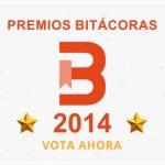 Clasificación parcial I : Premio Bitácoras 2014