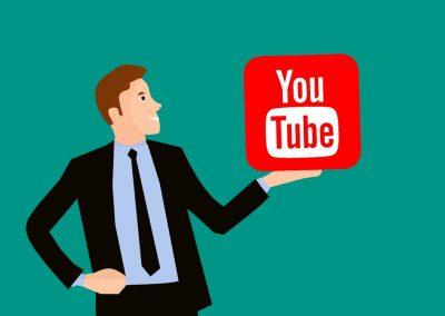 canal de youtube de empresa