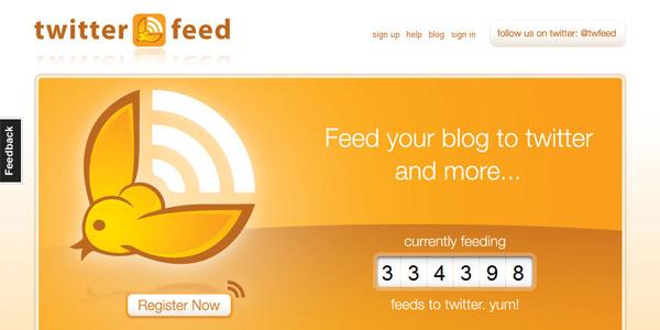 ¿Qué es Twitterfeed y en qué te beneficia?