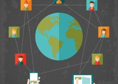 alcance en las redes sociales