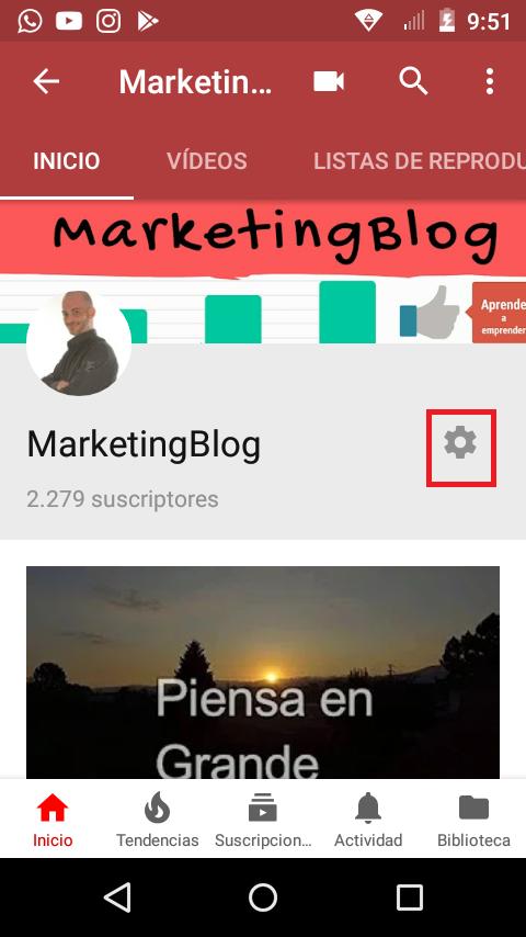 cambiar el nombre de tu canal de youtube 5