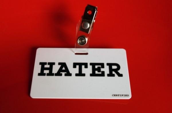¿Qué es un hater?