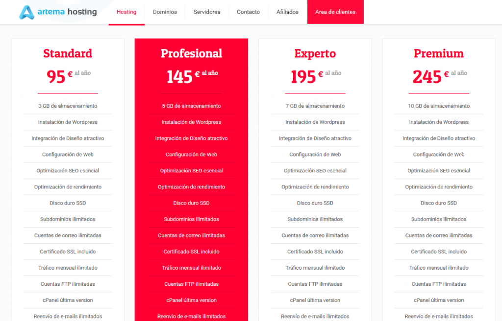 mejor hosting espanol 45