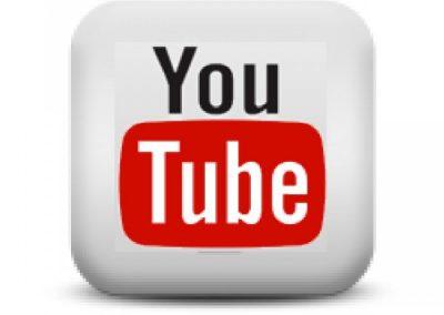 nombre en el canal de Youtube