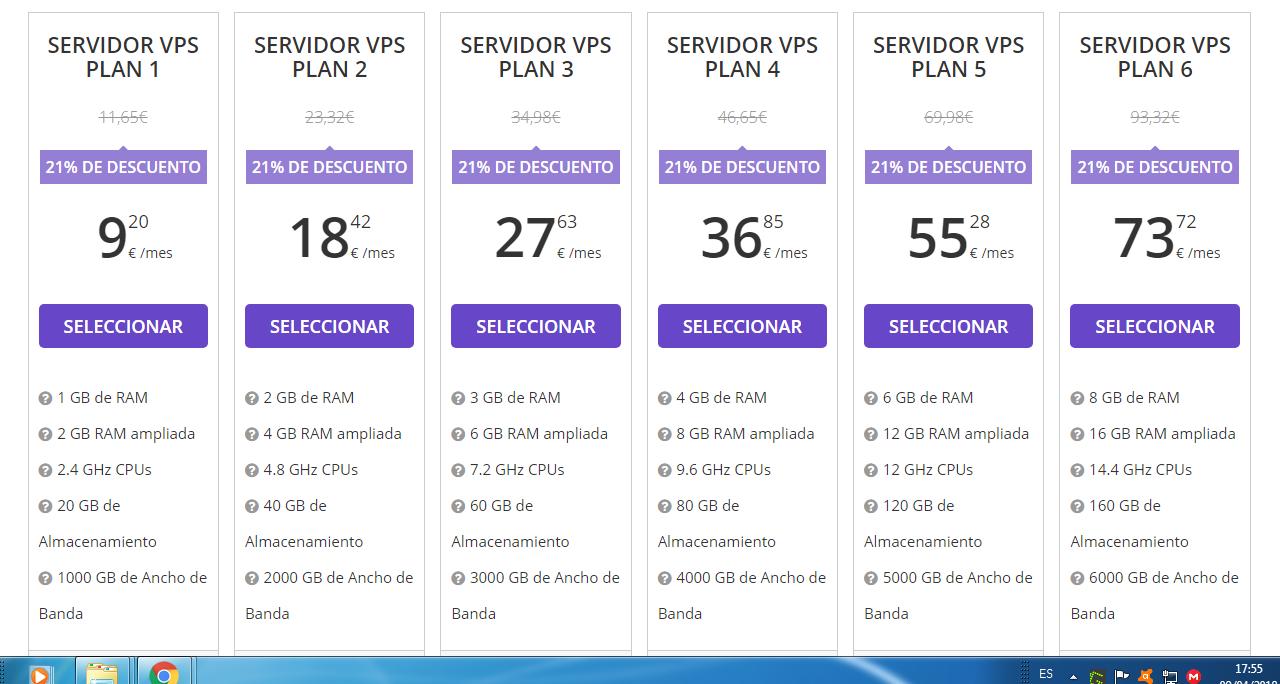 precio hosting vps hostinger