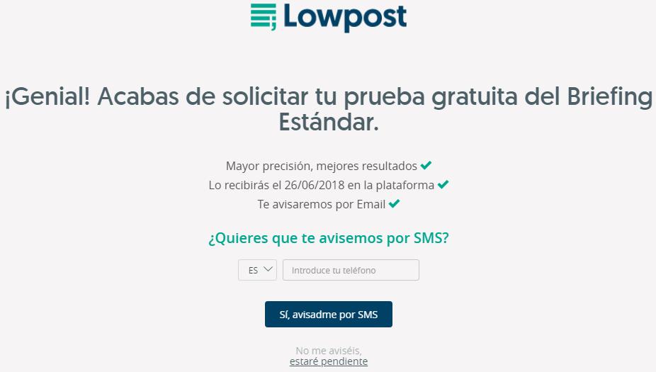pruebas lowpost 5